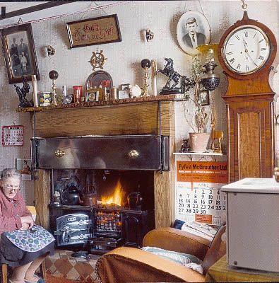 Cottage At Around 1910 The Artefacts On Show Illustrate How People Of Wanlockhead Lived Worked And Played Tour Guide Will Explain