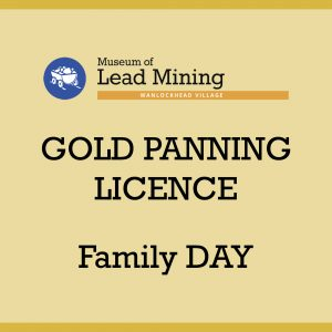 Family Day Gold Panning Licence