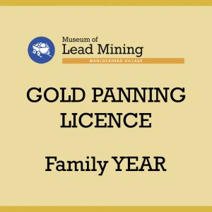 Family Year Gold Panning Licence