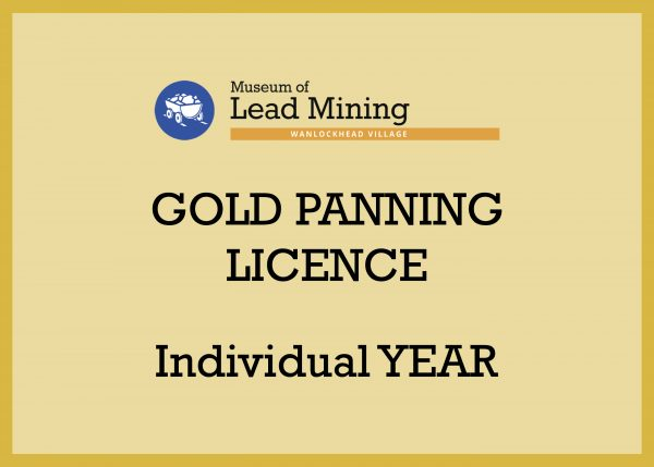 Individual Year Gold Panning Licence